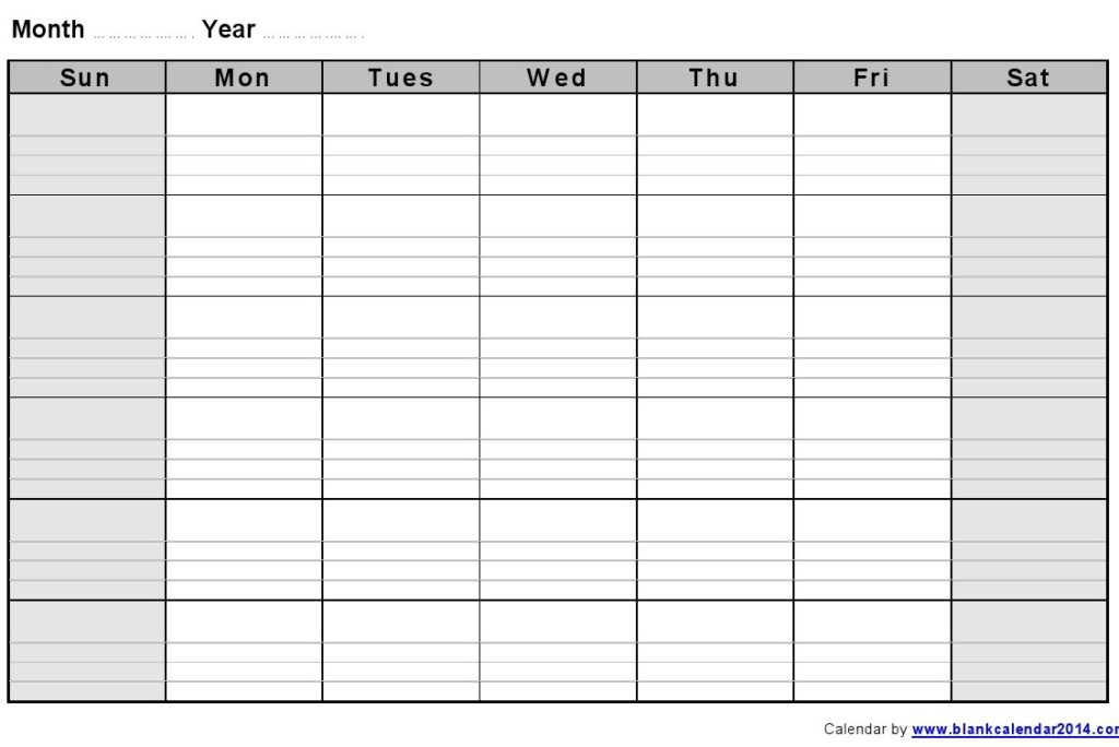 monthly-blank-formatted-weekly-calendar-template