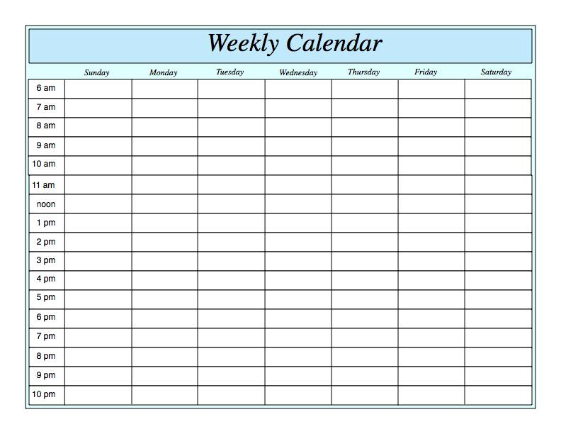 weekly-calendar-template-Download-Weekly-Printable-Calendar