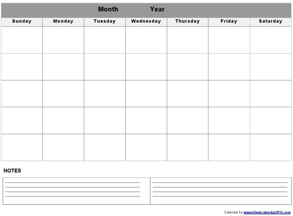 Template Of Calendars Landscapes Calendar Templates