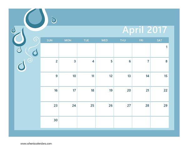 printable-blank-2017-April-Calendar-Template-seasonal